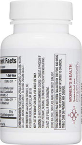 Amazon Brand - Revly Women's Probiotic 50 Billion CFU, 30 Capsules, 1 Month Supply