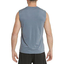 Baleaf Men's Performance Quick-Dry Muscle Sleeveless Shirt Tank Top Gray Size L