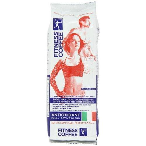 Fitness Coffee Antioxidant, Fully Active Blend (Pack of 2) Food & Drink Fitness Coffee