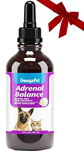 OmegaPet Best Cushings Treatment for Dogs - Adrenal Support for Dogs, Dog Cushings Drops to Make Them Happy and Healthy Again Animal Wellness OmegaPet