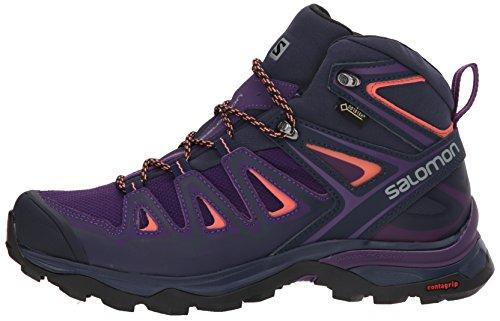 Salomon Women's X Ultra 3 Mid GTX W Hiking Boot,Acai,8.5 M US