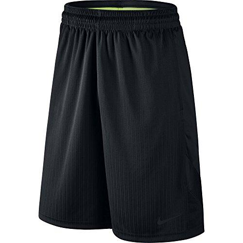 NIKE Men's Layup 2 Shorts, Black/Black/Black/Black, XX-Large
