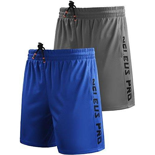 Neleus Men's Lightweight Workout Running Athletic Shorts with Pockets Activewear Neleus