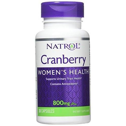 Natrol Cranberry Capsules, 800mg, 30 Count Supplement Natrol
