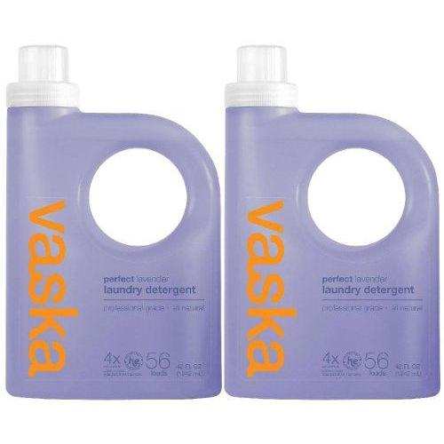 Vaska Perfect Laundry Detergent - 42 oz - Lavender - 4x Concentrated - 2 pk