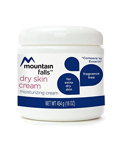 Mountain Falls Moisturizing Dry Skin Cream for Extra Dry Skin, Fragrance Free, Compare to Eucerin, 16 Ounce (Pack of 4)