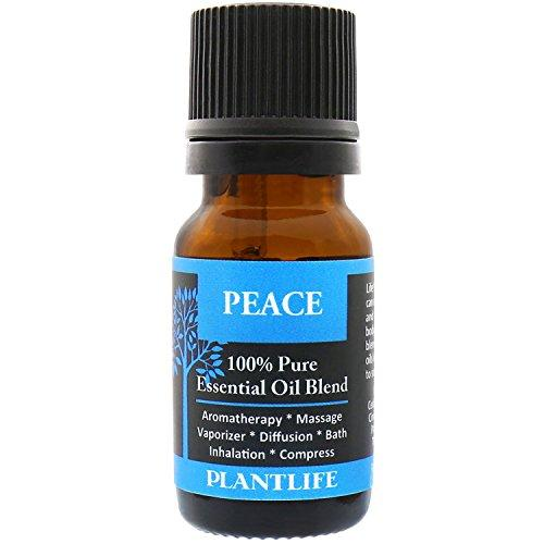 Plantlife, 100% Pure High Grade Quality Essential Oil Blend, Peace, 10 Milliliter