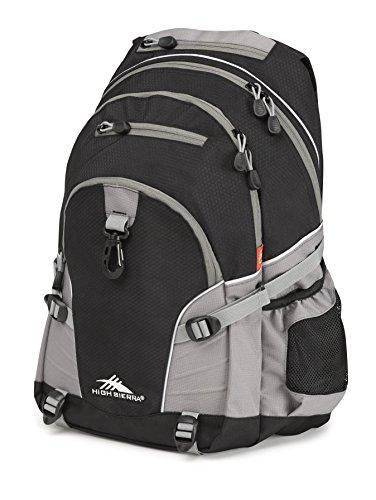 High Sierra Loop Backpack, Black/Charcoal