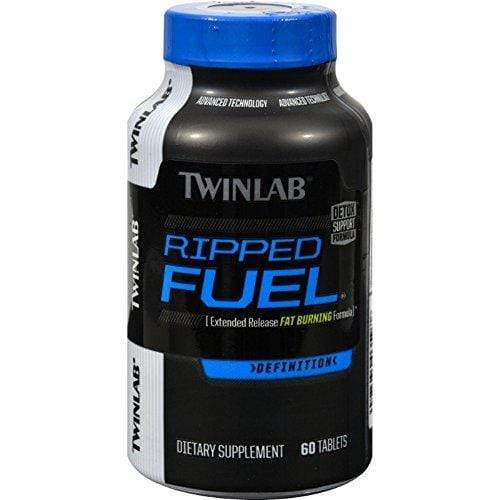 TWINLAB Ripped Fuel Weight Loss Tablets, 60 Count