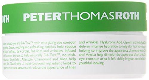 Peter Thomas Roth Cucumber De-Tox, Hydra-Gel Eye Patches, 30 Pairs / 60 Patches
