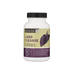 ProBiome Rx Liver Cleanse, 90 Capsules — Contains a Potent, High-Quality Blend of Live Probiotics and Prebiotics
