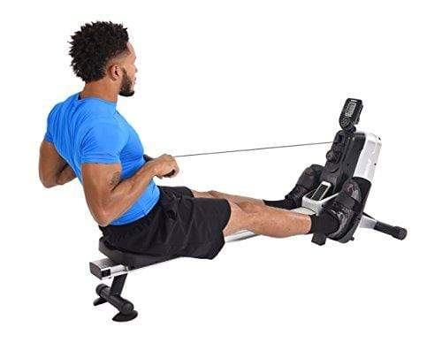 Stamina Multi-Level Magnetic Resistance Rower, Compact Rowing Machine Sport & Recreation Stamina