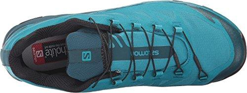Salomon Women's Outpath GTX W Hiking Sneakers, Blue, Mesh, Textile, 7 M