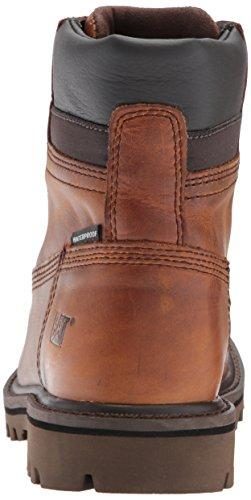 Caterpillar Men's Deplete Waterproof Boot, Brown, 8 D US