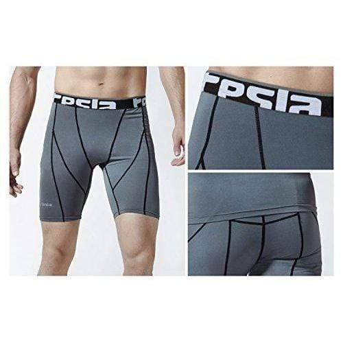 Tesla Men's Compression Shorts Baselayer Cool Dry Sports Tights MUS77/MUS07