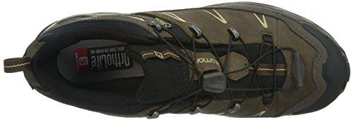 Salomon Men's X Ultra LTR GTX Hiking Shoe, Absolute Brown, 8.5 M US