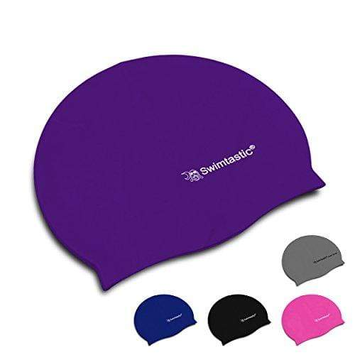 Swimtastic Snag Resistant Silicone Swim Cap - Purple Swim Cap Swimtastic®