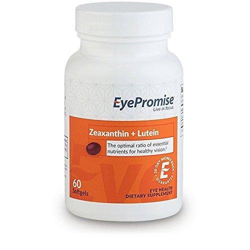 EyePromise Zeaxanthin + Lutein Eye Vitamin - Protect & Enhance Macular Health Supplement EyePromise