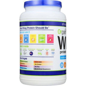 Orgain Grass Fed Whey Protein Powder Supplement Orgain