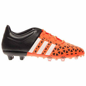 pretty nice 8b1b1 d6f9d adidas ACE 15.1 FG/AG Junior Soccer Cleats (Solar Orange, Black) Sz. 4