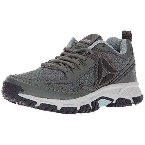 Reebok Women's Ridgerider Trail 2.0 Track Shoe, Ironstone/Seaside Grey/Coal/Skull Grey/Black/Silver/Pewter, 9.5 M US
