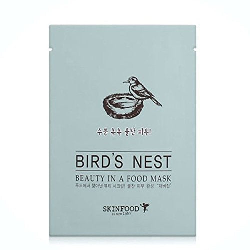SKINFOOD Bird's Nest Beauty in a Food Mask Sheet