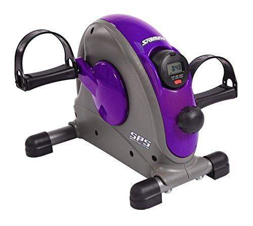 Stamina Mini Exercise Bike with Smooth Pedal System, Purple Sport & Recreation Stamina