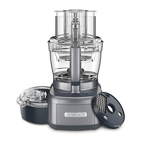 Cuisinart FP-13DGM Elemental 13 Cup Food Processor and Dicing Kit, Gunmetal Kitchen & Dining Cuisinart