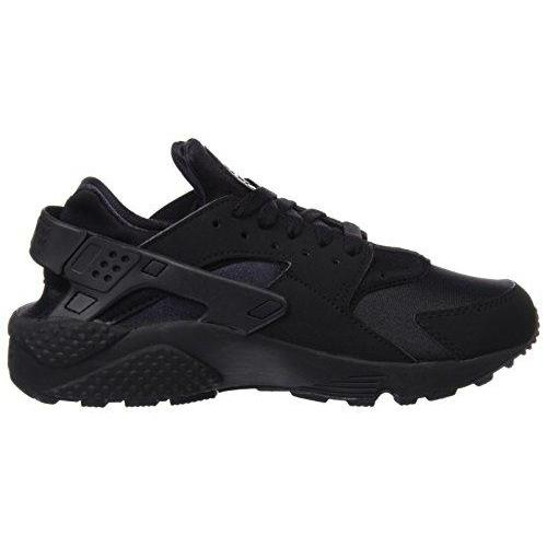Nike Men's Air Huarache Black/Black/White Running Shoe (9.5) Shoes for Men NIKE
