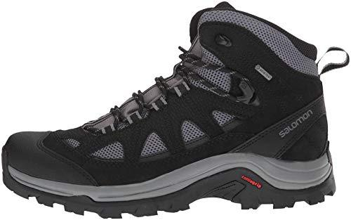 Salomon Men's Authentic LTR GTX Trail Running Shoe, Magnet/Black/Quiet Shade, 11.5 D US