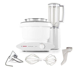 Bosch MUM6N11UC Universal Plus Stand Mixer, 800 Watt, 6.5-Quarts with 6 Cup Blender