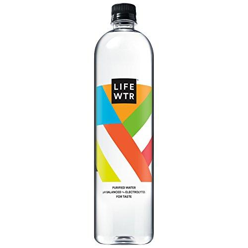 Premium Purified Water, pH Balanced with Electrolytes For Taste, 1 liter bottles (Pack of 6) Food & Drink LIFEWTR
