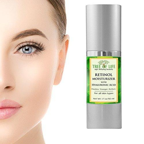 Retinol Cream Anti Wrinkle Moisturizer Beauty & Health Tree of Life Beauty