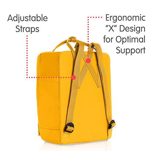Fjallraven - Kanken Classic Backpack for Everyday, Warm Yellow