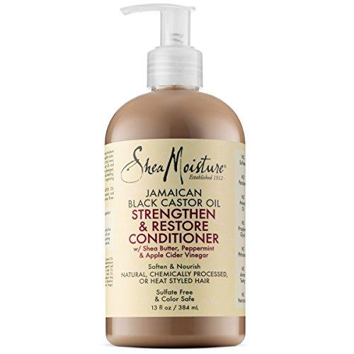 Shea Moisture Jamaican Black Castor Oil Strengthen & Restore Conditioner, 13 Oz