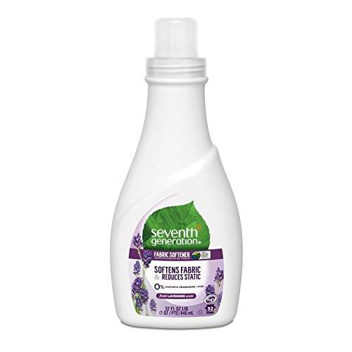 Seventh Generation Fabric Softener, Lavender & Blue Eucalyptus Scent, 32 Ounce Bottle