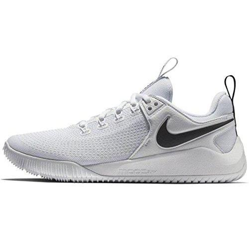 NIKE Women's Zoom Hyperface 2 Volleyball Shoes (8.5 B(M) US, White/Black) Shoes for Women NIKE