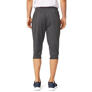 Baleaf Men's Performance Three-Quarter Jogger 3/4 Capri Pants Dark Gray Size M