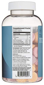 Amazon Brand – Revly Calcium with Vitamin D3, 90 Gummies, 45-Day Supply, Vegetarian, Non-GMO