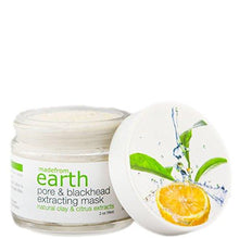 Pore & Blackhead Extracting Mask - with Organic Clay & Citrus Ingredients