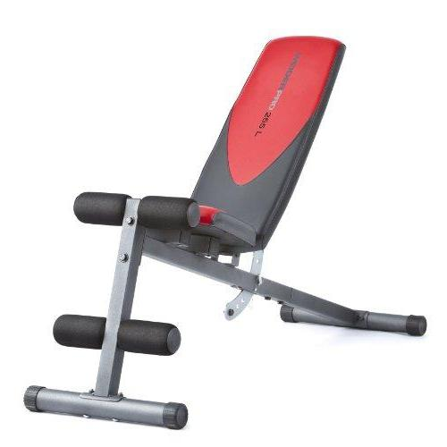 Weider Incline Weight Bench Sport & Recreation Weider