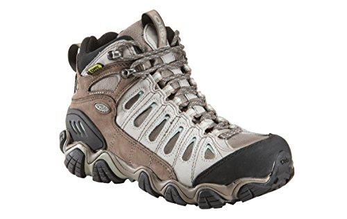 Oboz Women's Sawtooth Mid BDRY Hiking Boot,Iceburg,8 M US