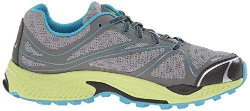 Vasque Women's Pendulum II Trail Running Shoe, Neutral Gray/Horizon Blue,8.5 M US