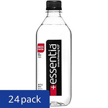Essentia Ionized Alkaline 9.5 pH Bottled Water, 20 Ounce, (Pack of 24)