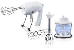 Braun M1050 Multiquick 6-in-1 Hand Mixer with Chopper, 220-volt