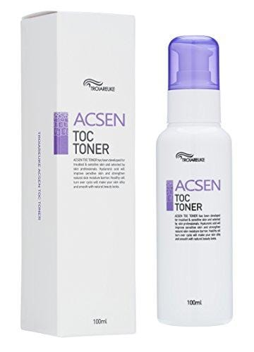 [TROIAREUKE] ACSEN TOC Toner 100ml (3.38fl.oz) / Acne Prone Sensitive Skin Care with Centella Asiatica, Hyaluronic Acid