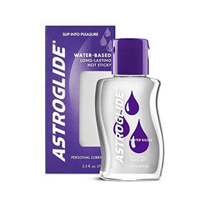Astroglide Liquid, Water Based Personal Lubricant, 2.5 oz. (Pack of 3)