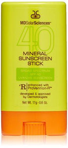 MDSolarSciences Mineral Sunscreen Stick Broad Spectrum SPF 40
