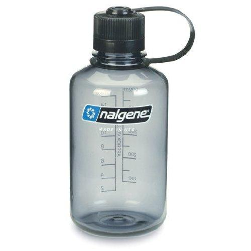Nalgene Tritan 1-Quart Narrow Mouth BPA-Free Water Bottle, Gray Sport & Recreation Nalgene