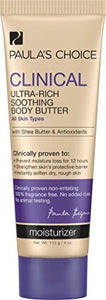 Paula's Choice CLINICAL Ultra-Rich Soothing Body Butter, 4 Ounce Bottle, with Shea Butter